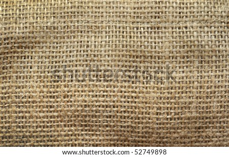 burlap texture background - stock photo