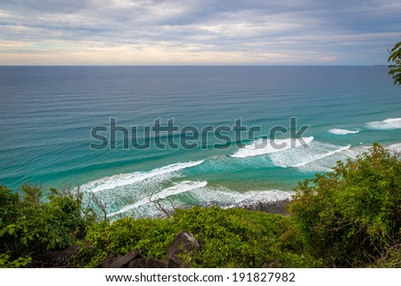 Burleigh Heads - East Coast, Australia - stock photo