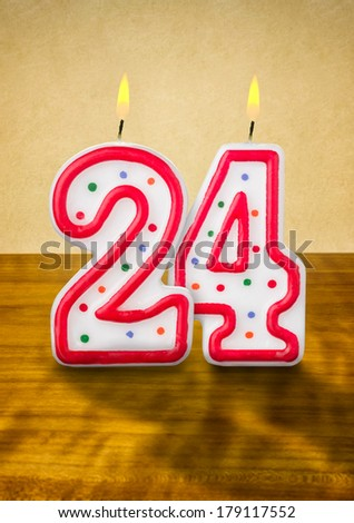 24 Birthday Stock Images Royalty Free Images Amp Vectors