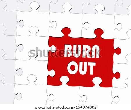 Burnout - stock photo