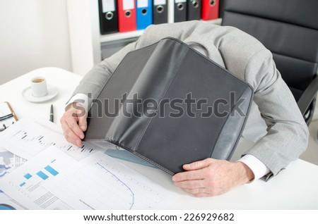 Burnout situation - stock photo