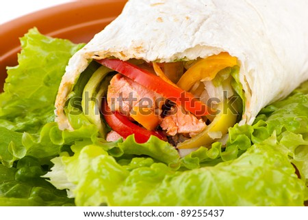 Kebab Roll Stock Images, Royalty-Free Images & Vectors ...