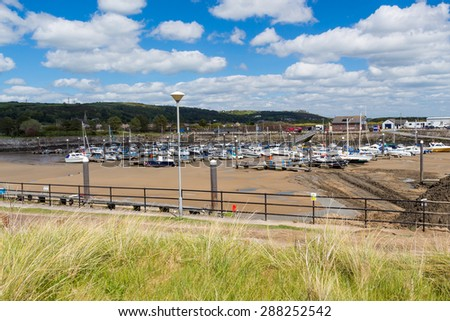 Burry Port Harbour Carmarthenshire Wales UK Europe