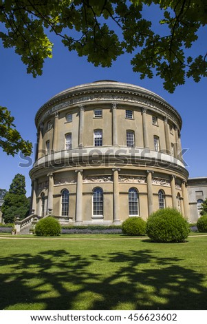 BURY ST EDMUNDS, UK - JULY 19TH 2016: The beautiful Ickworth House in Suffolk, on 19th July 2016.