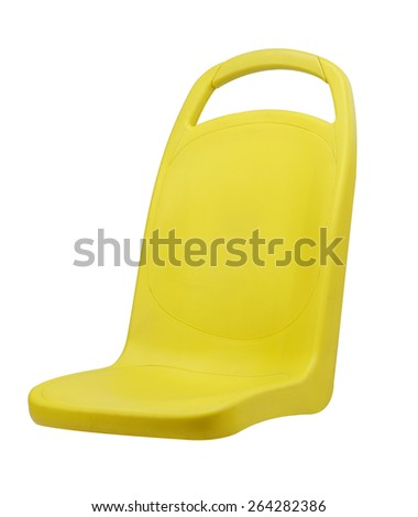 bus seat - stock photo