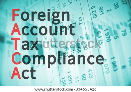 Business Acronym FATCA as Foreign Account Tax Compliance Act.