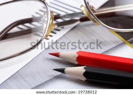 Business analytic concept - stock photo