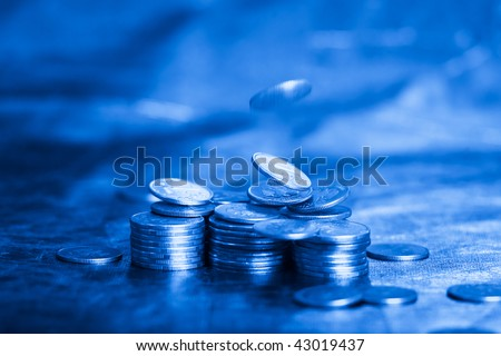 business and money concept, e-commerce - stock photo