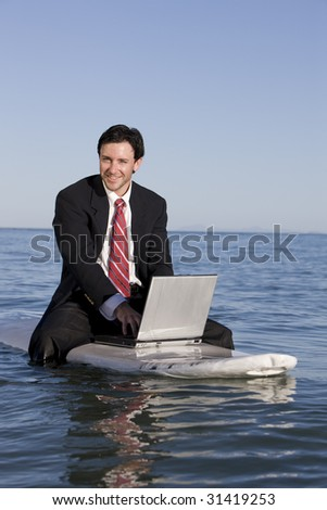 Business and Pleasure - stock photo
