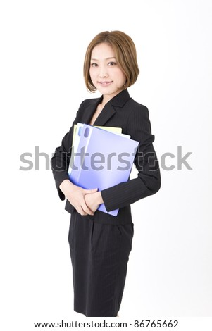 Business asian woman