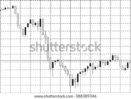 Business background, Market Analyze, Bar graphs, diagrams, financial figures, forex, black and white style. - stock photo