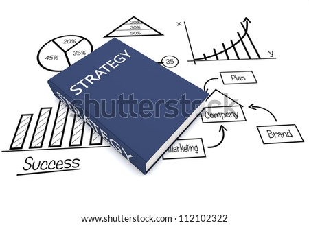 Business book - stock photo