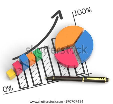 Business budget plan as a concept - stock photo