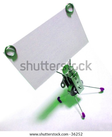 Business Card Holder (1 of 2 Photo) - stock photo