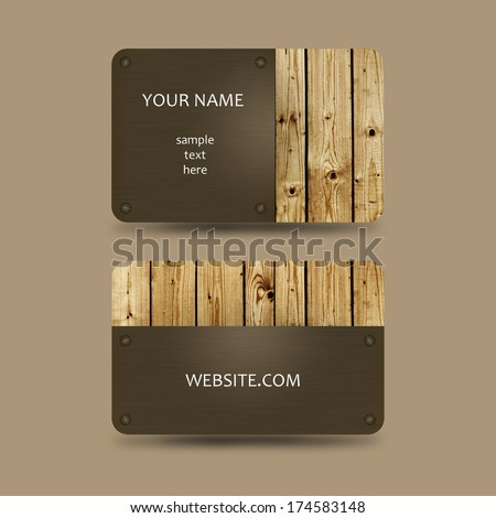 Business card template wooden background stock photo 100 legal business card template with wooden background reheart Choice Image