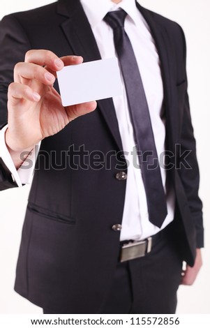 Business Cards - stock photo