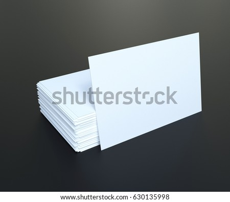 Business cards template black table 3d stock illustration 630135998 business cards template black table 3d illustration accmission Image collections