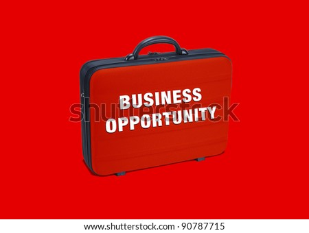 Business  case write on it  Business Opportunity - stock photo