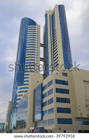 Business centre building - stock photo