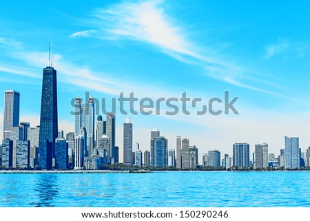 Business City Concept Vision - stock photo