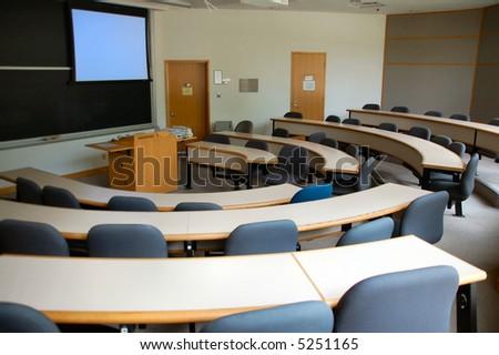 Business classroom - stock photo