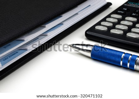 Business concept: accounting - stock photo