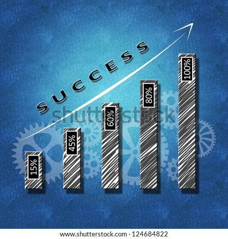 Business concept for success - stock photo