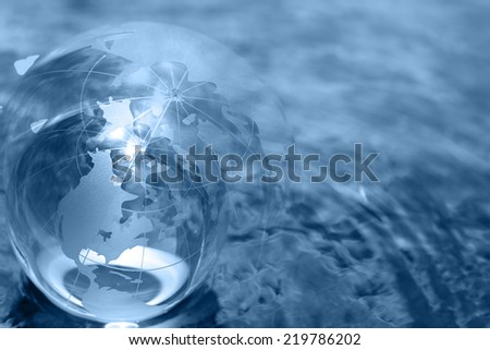 business concept globe - stock photo