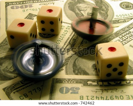 business concept:what is business?...money,luck,speed,instability...........not always a very bright world