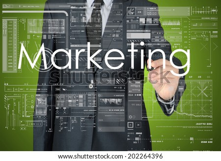 Business Concepts. Marketing - stock photo