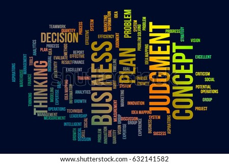 Business conceptual colorful word clouds for web page, graphic design, texture, catalog, wallpaper or background.