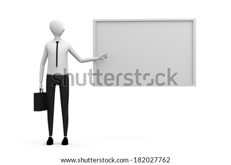 business consultation - stock photo