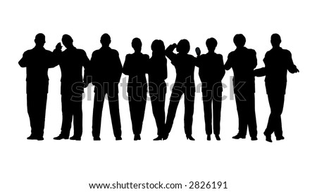 business crowd vector 2 all people stock illustration 2826191 rh shutterstock com crown vector art crow vector