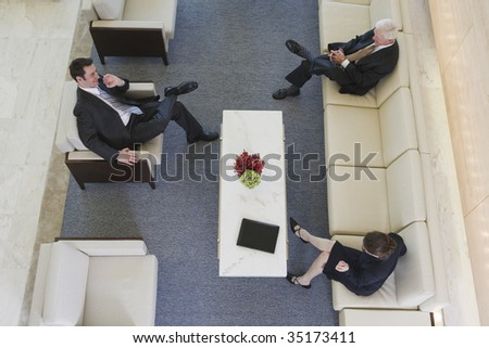 Business discussion - stock photo