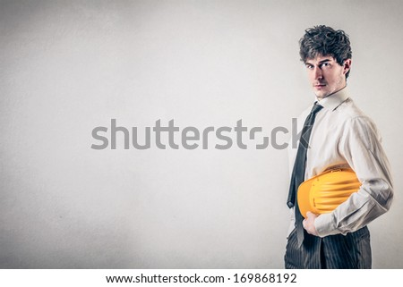 Business Engineer - stock photo