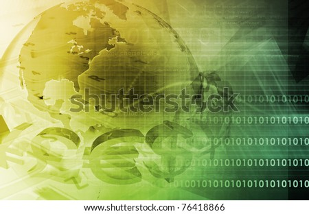 Business Finance and Accounting as a Abstract - stock photo