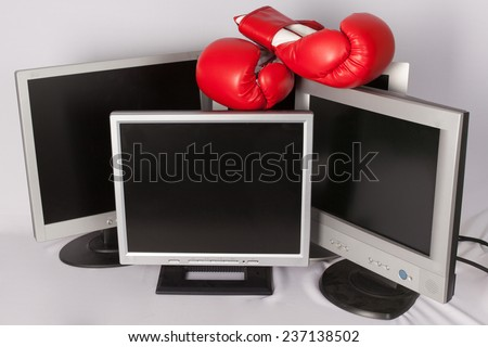 Business frustration - stock photo