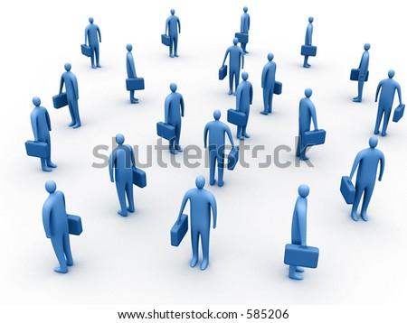 Business gathering - stock photo