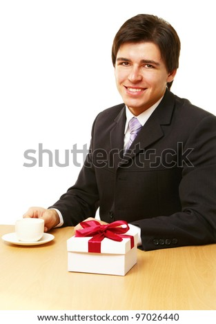 Business Gift - stock photo