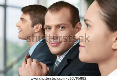 Business. Good meeting - stock photo