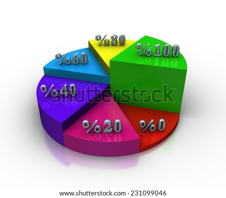 Business Graph Success - stock photo