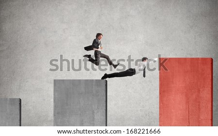 Business Help - stock photo