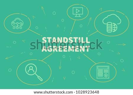 Business illustration showing concept standstill agreement stock business illustration showing concept standstill agreement stock illustration 1028923648 shutterstock platinumwayz