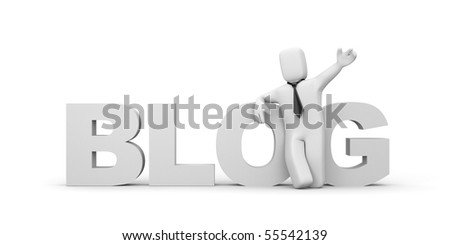 Business in internet - stock photo