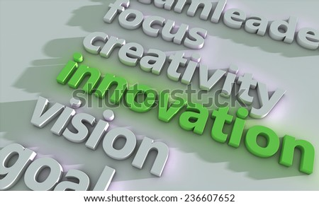 Business innovation - stock photo
