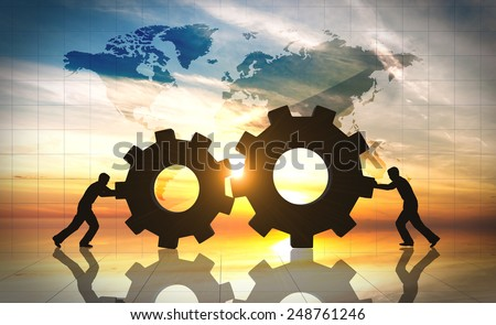 Business innovation creative idea - stock photo