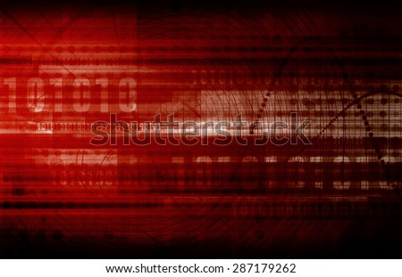 Business Innovation in Sales and Marketing Art - stock photo