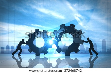 Business innovation world creative idea - stock photo