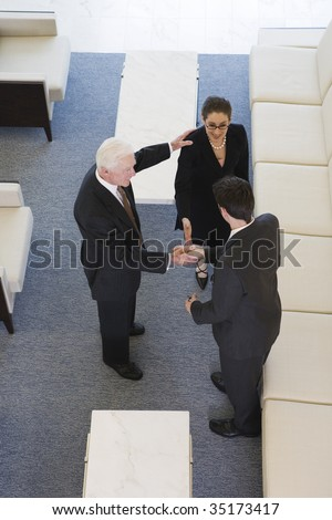Business introductions - stock photo