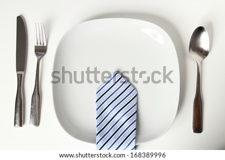 Business Lunch - stock photo